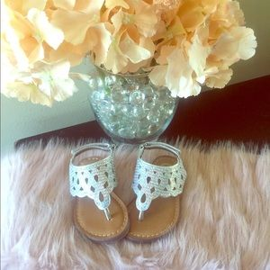 Other - Little cute glitter sandals